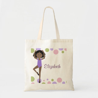 Sweet Ballerina Personalized Tote Bags