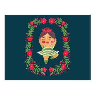 Sweet Ballerina Postcard