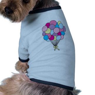 Sweet Balloons Dog T-shirt