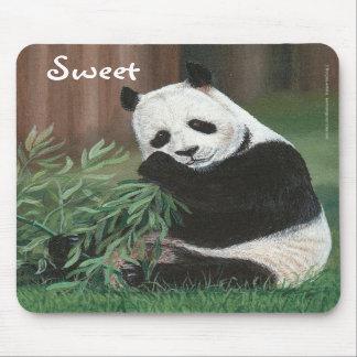 Sweet Bamboo Panda Bear mousepad