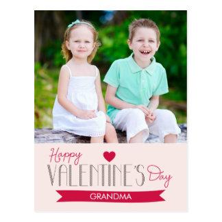Sweet Banner Valentine's Day Post Card