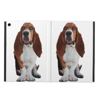 Sweet Basset Hound Dog iPad Air Cover