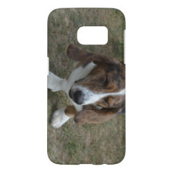 Case-Mate Barely There Samsung Galaxy S7 Case with Basset Hound Phone Cases design