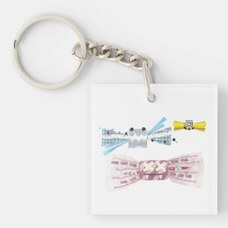 Sweet Bats Double Sided Keyring Keychain