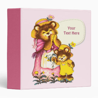 Sweet Bear Family. Mother's Day Gift Binders