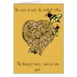 Sweet Bee Valentine Card