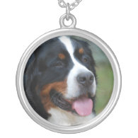 Sweet Bernese Sterling Silver Necklace