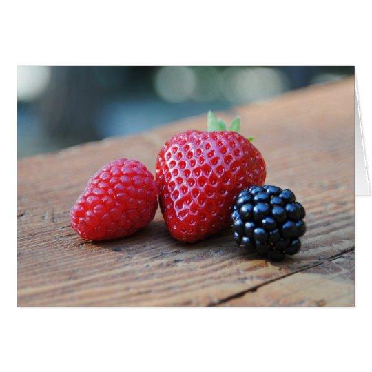 Sweet Berries Card