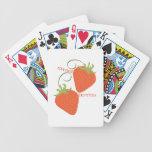 Sweet Berries Poker Cards