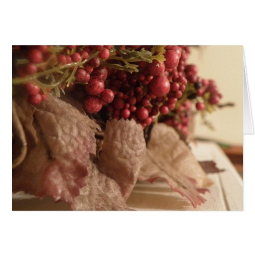Sweet Berry Collection Greeting Card