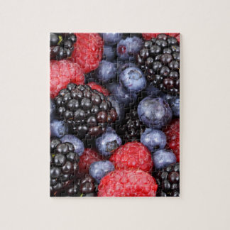 Sweet Berry Medley Print Jigsaw Puzzle
