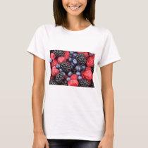 Sweet Berry Medley Print T-Shirt