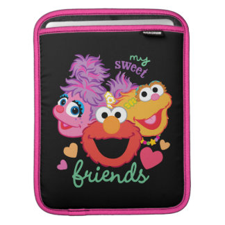 Sweet Best Friends Characters iPad Sleeve