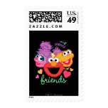 Sweet Best Friends Characters Postage Stamps
