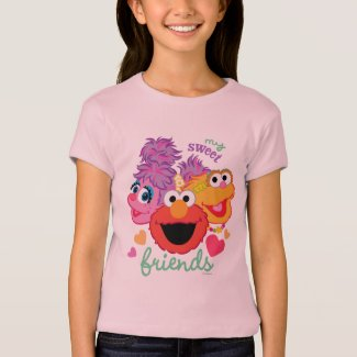 Sweet Best Friends Characters T-Shirt