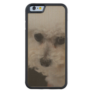 Sweet Bichon Frise Carved® Maple iPhone 6 Bumper