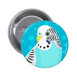 Sweet Bird Parakeet 2 Inch Round Button