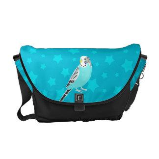 Sweet Bird Parakeet Messenger Bag