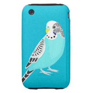 Sweet Bird Parakeet Tough iPhone 3 Cover