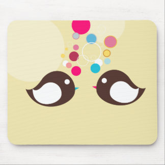 Sweet Birds Mouse Pad