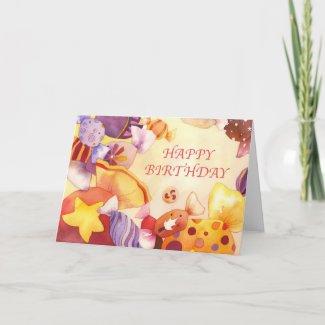 Sweet Birthday zazzle_card