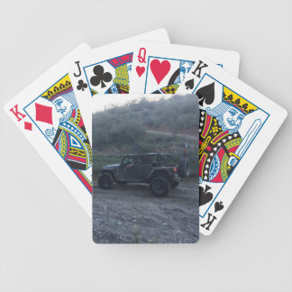 Sweet Black Jeep Bicycle Playing Cards