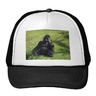 Sweet Black Monkey Gorilla Trucker Hat