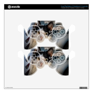 Sweet Black & White Decal For PS3 Controller