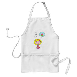 Sweet blonde girl adult apron