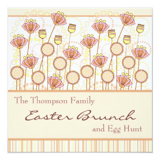 Sweet Blooms Easter Invitation