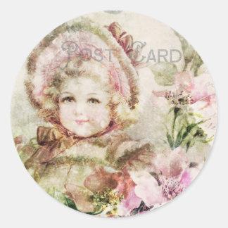 Sweet Blossom Vintage sticker