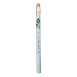 Sweet Blue Owl Pencil