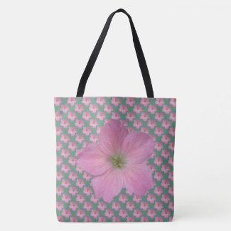 Sweet Botanical Floral Pink on any Color