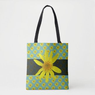 Sweet Botanical Floral Yellow on any Color
