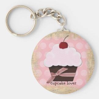 Sweet Boutique Cupcake Lover keychain - Round
