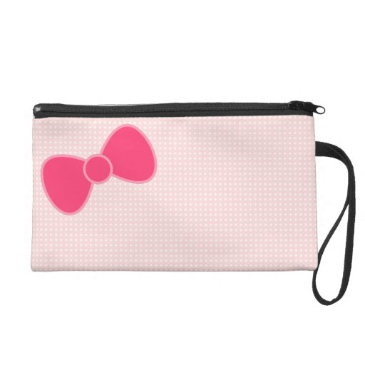 Sweet Bow Wristlet Clutches
