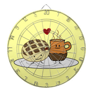 Sweet Bread and Hot Chocolate Dartboards