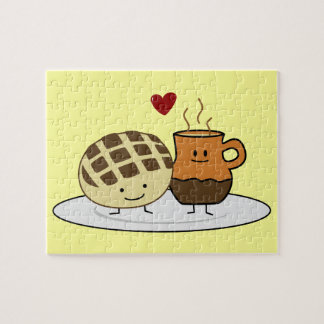 Sweet Bread and Hot Chocolate Jigsaw Puzzle