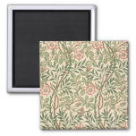'Sweet Briar' design for wallpaper, printed by Joh 2 Inch Square Magnet