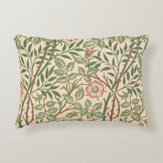'Sweet Briar' design for wallpaper, printed by Joh Accent Pillow