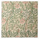 'Sweet Briar' design for wallpaper, printed by Joh Large Square Tile