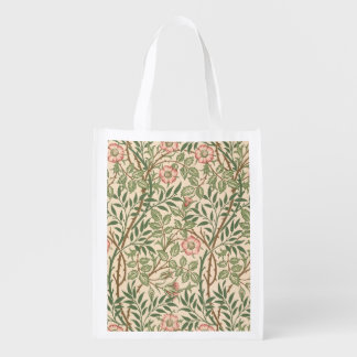 'Sweet Briar' design for wallpaper, printed by Joh Reusable Grocery Bag