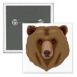 Sweet Brown Bear Buttons