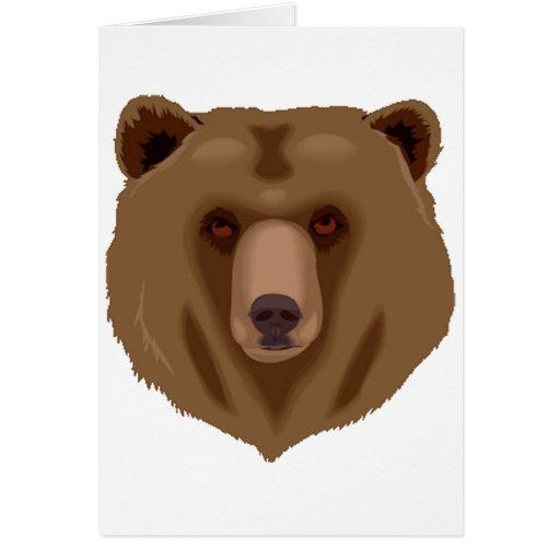 Sweet Brown Bear Card