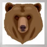 Sweet Brown Bear Poster