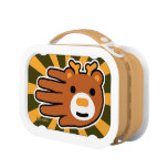 Hand shaped Sweet Brown Deer Lunch Box