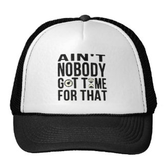 Sweet Brown Funny Ain't Nobody Got Time For That Trucker Hats