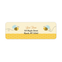 Sweet Bumble Bee Address Labels