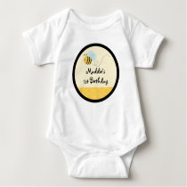 Sweet Bumble Bee Baby T-Shirt