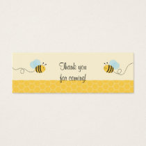 Sweet Bumble Bee Favor Gift Tags